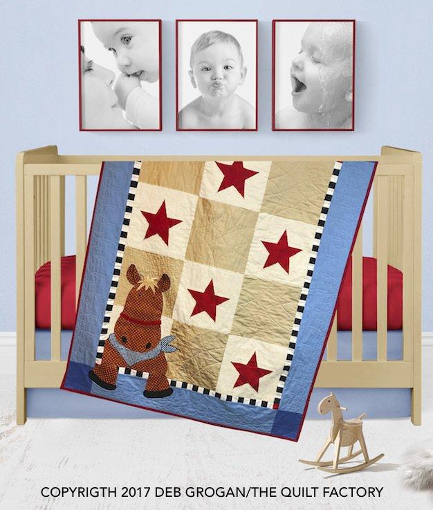 Henry Horse Fabric Kit