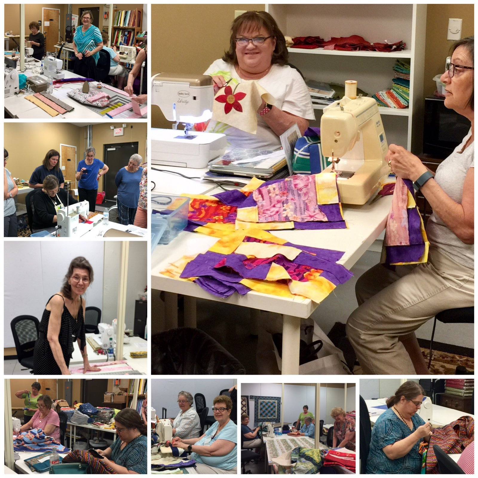 Come join us for a quilting class!