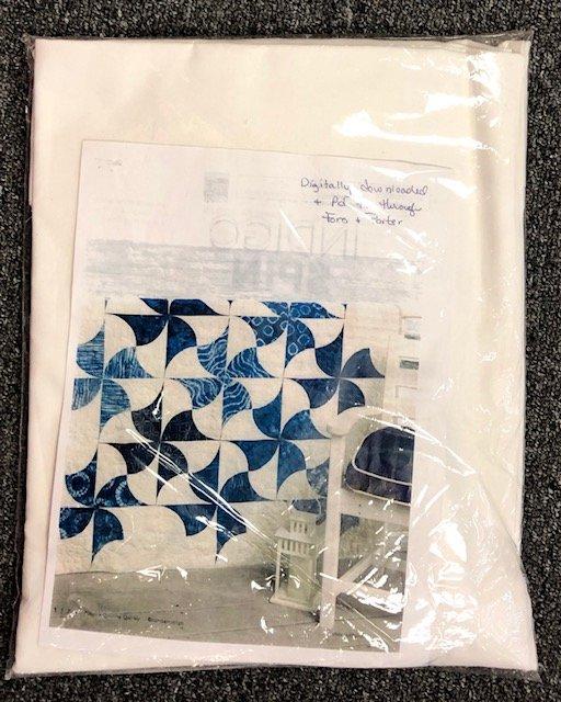 blue, White & Spin kit
