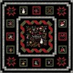 MASMWIJ Winter Joy Flannel Kit 72in x 72in