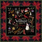 MASMWTF Winter Joy Flannel Quilt Kit 32x32