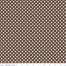 C610-110 Medium Dots black Le creme