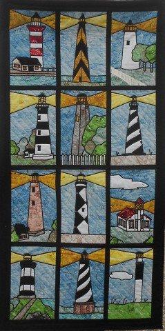 lighthouses of North Carolina Quilt