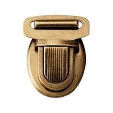 M293-08 purse closure bronze