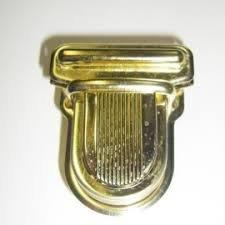 M293-100 purse closure gold