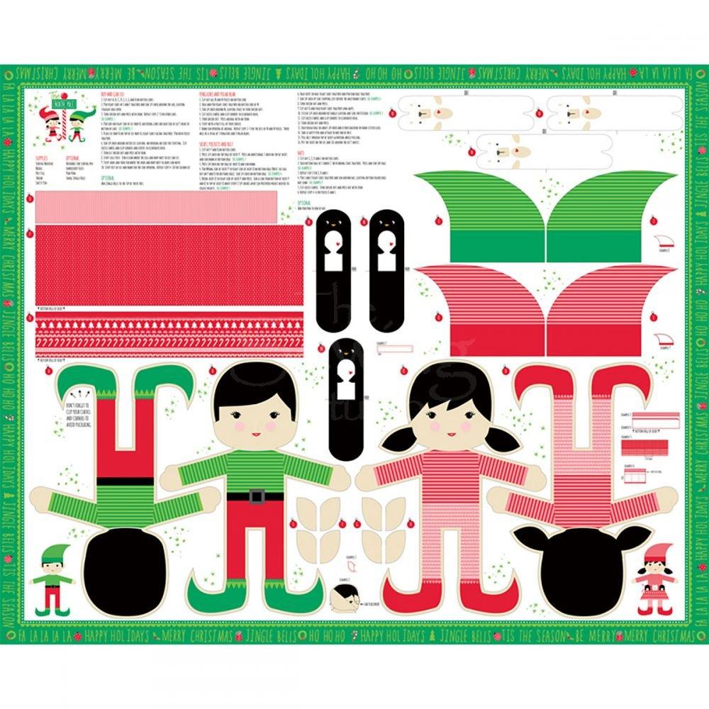 20580 11 North Pole Doll Panel