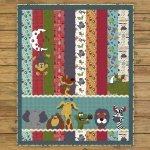 Moon & Back Critter Quilt Kit