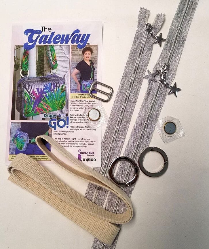 Gateway Supply Kit Nickel without zippers