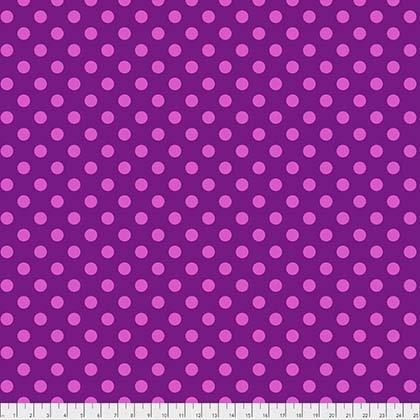 PWTP118FOX Tula Pink All Stars Pom Poms Foxglove