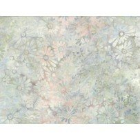 Batavian Batiks Flower Field 22121 907 Lt Grey