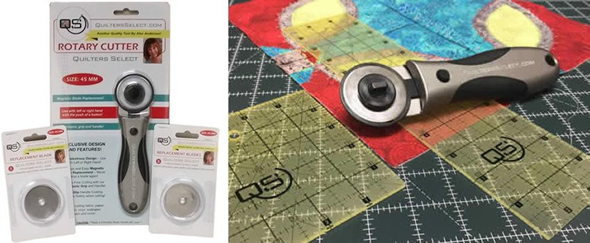 Quilters Select 60mm Rotary Cutter QS-Rotary