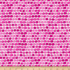 Whimsy Daisical Small Rectangles B1433-22 Pink