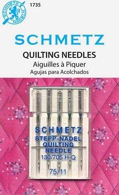 #1735 Schmetz Machine Needle Quilting 5 Pk Sz 75/11