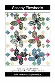 Sashay Pinwheels Kit (Pattern + 11 11xWOF Cuts)