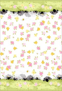 SB20302-520 Susybee Lal the Lamb Double Border