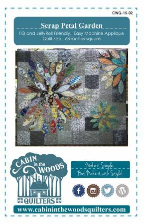 Scrap Petal Garden Pattern and Template