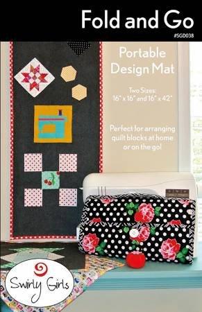 Swirly Girls Fold & Go Portable Design Mat SGD038