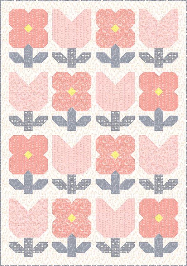 SIH 019G Sweet Garden Soft Sweet Flannel