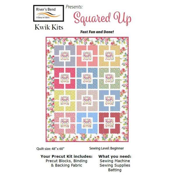 Cottage Blooms Squared Up Quick Kit RIV CB KK2