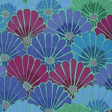 Kaffe Classics PWGP144 Thousand Flowers Blue