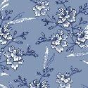 Blue Byrd 51428-3 Floral Spray Wedgewood