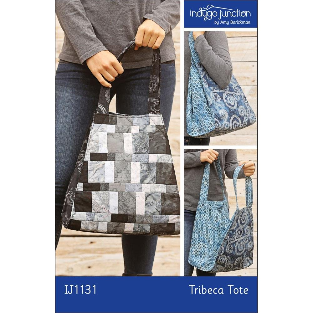 1J1131 Tribeca Tote by Indygo Junction