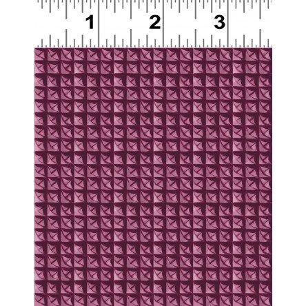 Y2281 47 Lenten Rose by Cedar West Small Geometric Light Wine