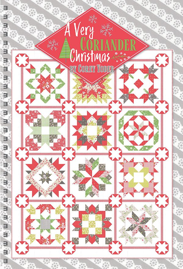 A Very Coriander Christmas Book by It's Sew Emma