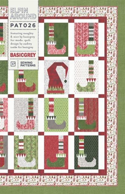 Elfin Around Pattern by BasicGrey