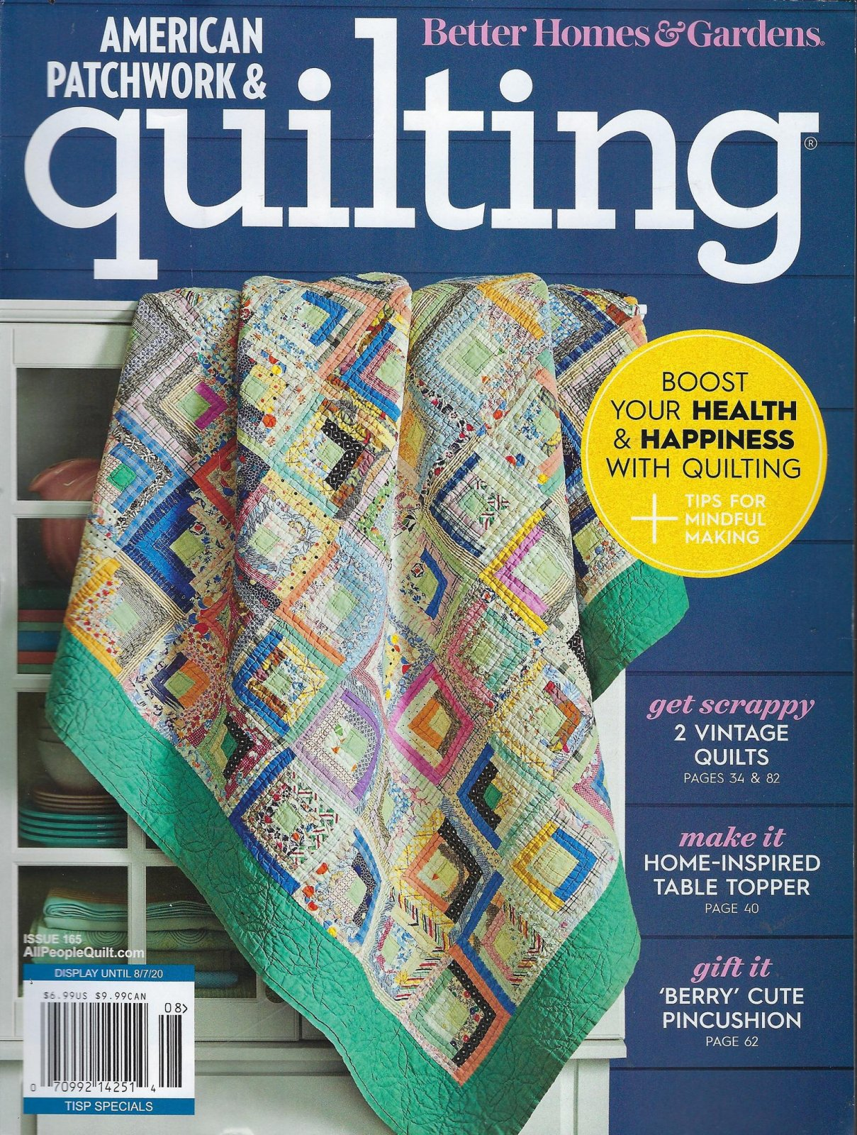 American Patchwork & Quilting August 2020