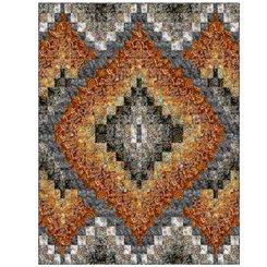 Botanica Layered Diamonds Charcoal/Rust Kit 43x56