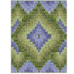 Botanica Layered Diamonds Green/Purple Kit 43x56