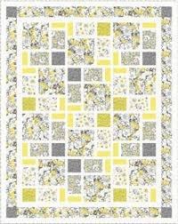 Alyssa Gray/Yellow Throw Kit 66x83 PT1736