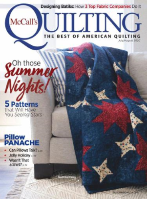McCall's Quilting Magazine July/August 2020