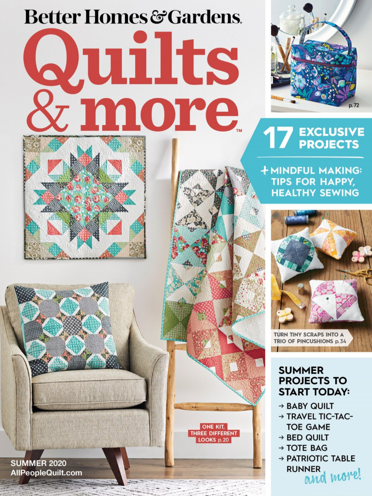 Quilts & More Magazine Summer 2020