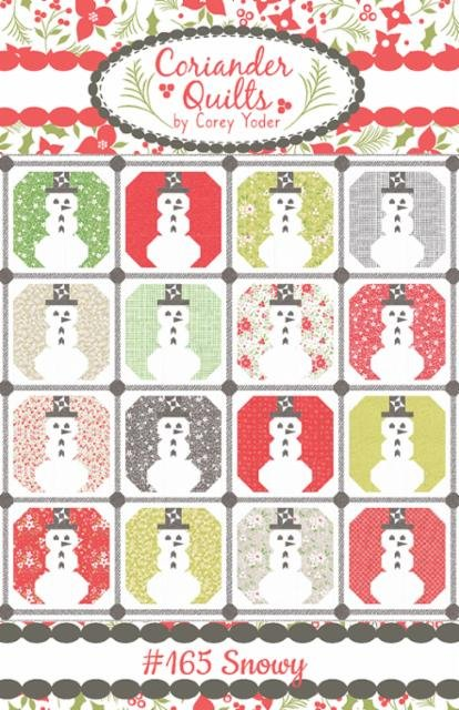 Snowy Pattern by Coriander Quilts / Corey Yoder