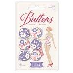 Bon Voyage Buttons 18mm Tilda TIL400034