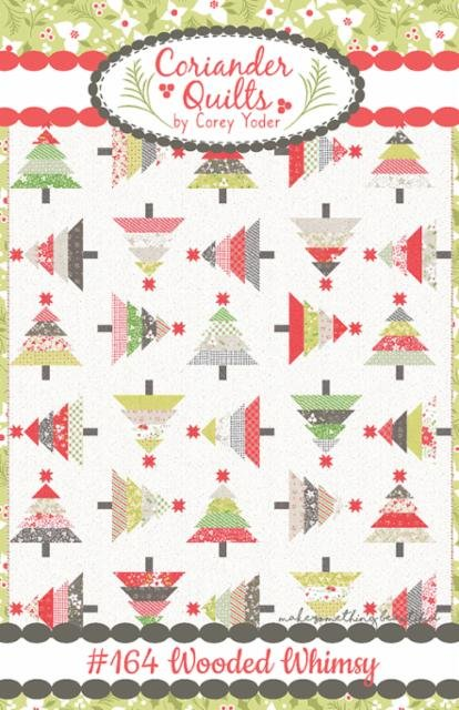 Wooded Whimsy Pattern by Coriander Quilts / Corey Yoder