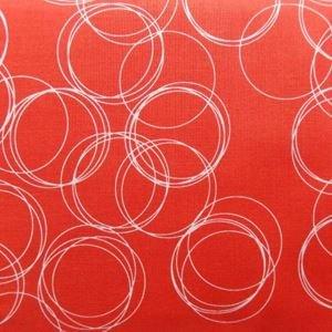 Four Corners C4873-Coral Circles