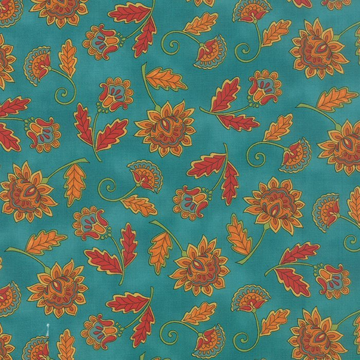 Forest Fancy 19711-14 Autumn Teal