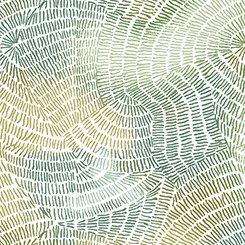 Ombre Stitches Moss 25974-F