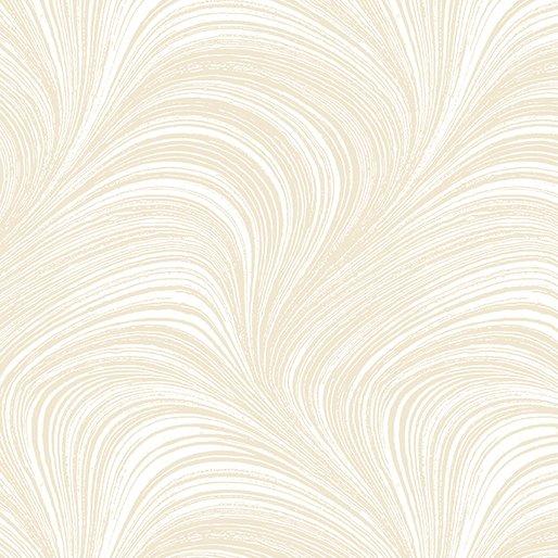 Wide Wave Texture Cream 2966W-07 108 Wide