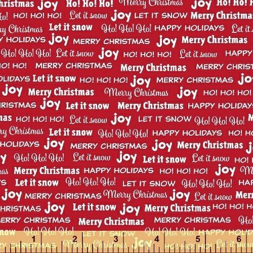 JoyBB 43000-3 Red Words