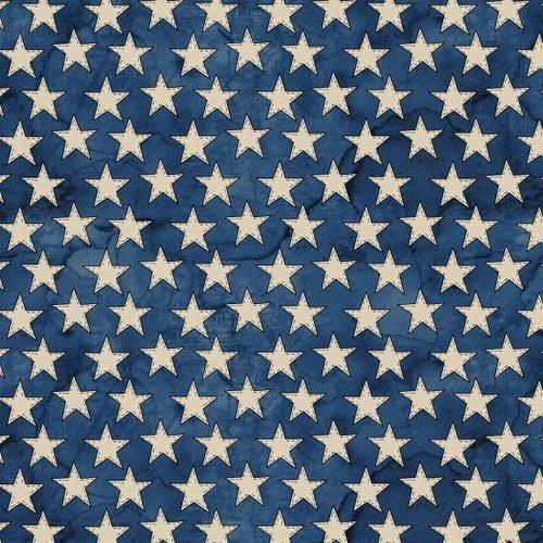 American Honor B-8337-77 Blue Stars