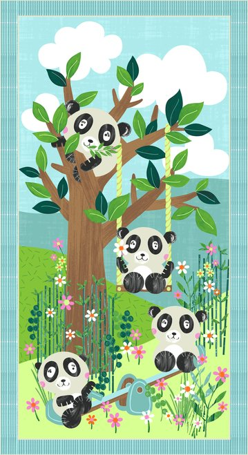 PandaPark 9476P-11 Light Blue Panel