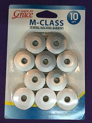 Q'nique M-Class Bobbins Set of 10