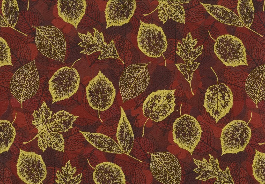 Can't Stop Falling Q7643-66G Autumn Gold