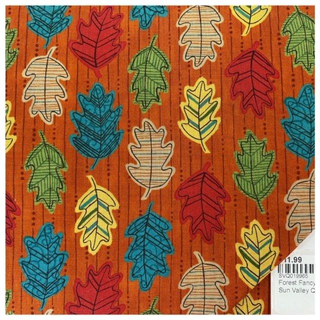 Forest Fancy 19715-11 Harvest Orange
