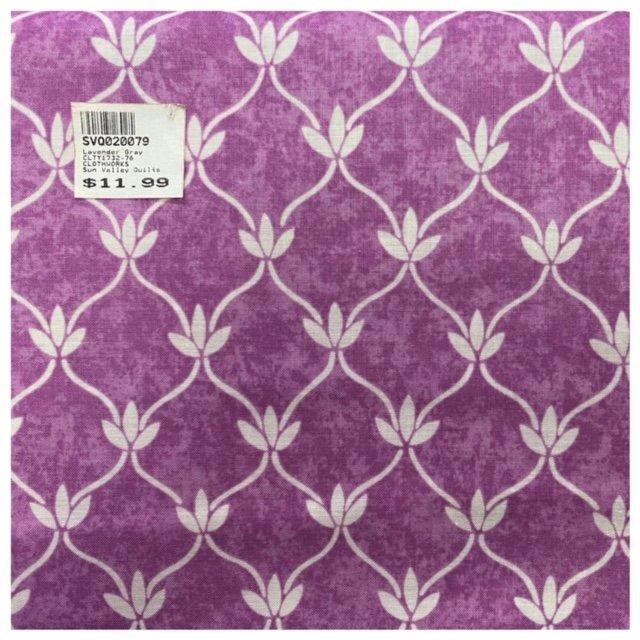 Lavender Gray CLTY1732-76 Lt.Fuchsia CLOTHWORKS