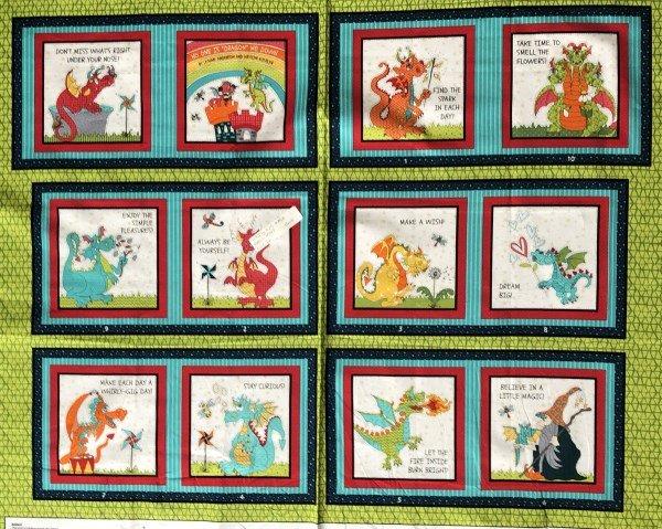 Whirly Gig Magic 1849P-66 Green 36 Dragon Book